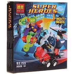 لگو پسرانه 93 تیکه بلا 10668 SUPER HERO
