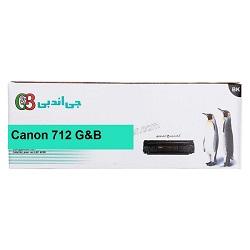 کارتریج لیزری جی اند بی مدل Canon 712