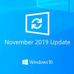 نسخه به روز شده ویندوز 10 نوامبر 2019 در حال حاضر موجود است