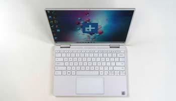 در جعبه گشایی لپ تاپ دل مدل XPS 13 2-in-1