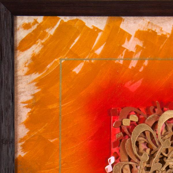 تابلو نقاشی خط عشق رازیست کد 125
