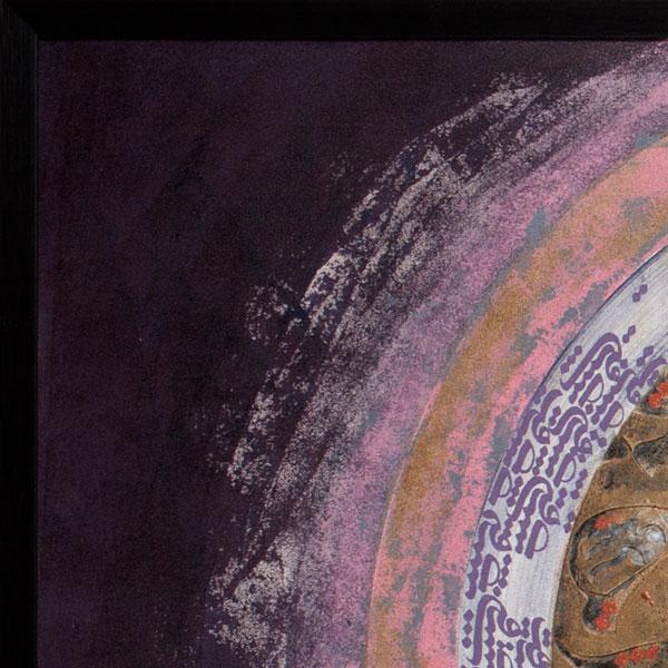 تابلو نقاشی خط عشق باستانی کد 137