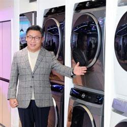 سامسونگ ماشین لباسشویی و خشک کن با بهرهگیری از هوش مصنوعی عرضه خواهد کرد