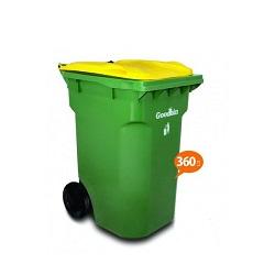 سطل زباله گودبین مدل 6136 ظرفیت 360 لیتر