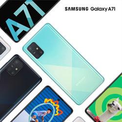 گوشی موبایل Samsung Galaxy A71 امروز به فروش می رسد