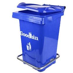 سطل زباله گودبین مدل 6122 ظرفیت 120 لیتر