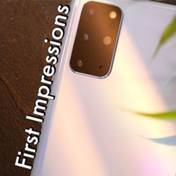 گوشی Samsung Galaxy S20+، جعبه گشایی و اولین برداشتها