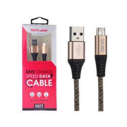 کابل تبدیل USB به microUSB تسکو مدل TC A19