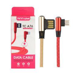 کابل تبدیل USB به microUSB تسکو مدل TC A76
