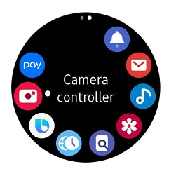 عکاسی با Galaxy S20 از طریق Galaxy Watch