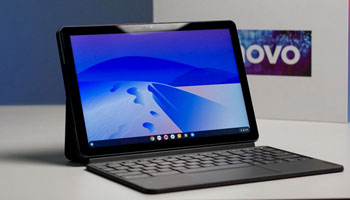 جعبه گشایی و معرفی مشخصات اولیه Chromebook Duet لنوو انجام شد