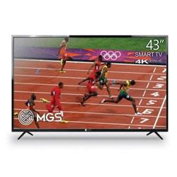 تلویزیون ال ای دی هوشمند ام جی اس G43US6000W