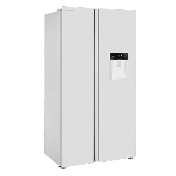 یخچال و فریزر ساید بای ساید ایکس ویژن مدل TS665 AWD