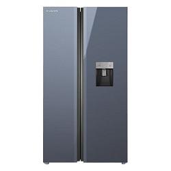یخچال و فریزر ساید بای ساید ایکس ویژن مدل TS665 AGD