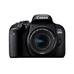 دوربین عکاسی کانن مدل EOS 800D لنز 55-18 میلی متر