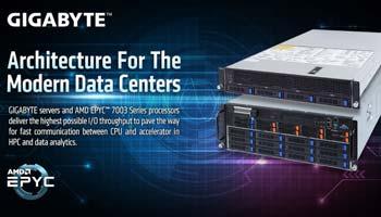 گیگابایت سرورهای جدیدی را با پردازنده جدید AMD EPYC 7003 عرضه می کند