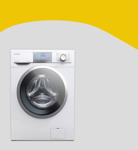 ماشین لباسشویی دوو مدل DWK 7100